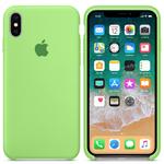 Чехол Silicon case iPhone XR, зеленый
