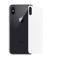 Защитное стекло на заднюю панель iPhone X, белое
