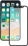 Противоударное модульное 3D стекло для iPhone X, черное