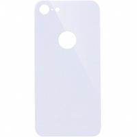 Защитное стекло на заднюю панель iPhone 8, белое