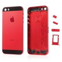 Корпус iPhone 5S Красный/Черный