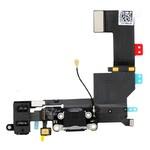 Шлейф системного разъема iPhone 5S, чёрный