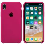 Чехол Silicon case iPhone XR, розовый