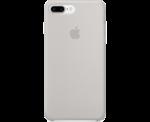 Чехол Silicon case iPhone 7 Plus/iPhone 8 Plus, светло-серый