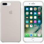 Чехол Silicon case iPhone 7 Plus/iPhone 8 Plus, бежевый
