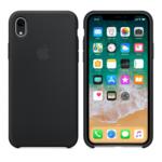 Чехол Silicon case iPhone XR, черный