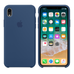 Чехол Silicon case iPhone XR, синий