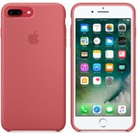 Чехол Silicon case iPhone 7 Plus/iPhone 8 Plus, розовая камелия
