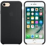 Чехол Silicon case iPhone 7/iPhone 8, чёрный