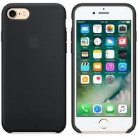 Чехол Silicon case iPhone 7/iPhone 8, чёрный