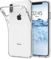 Силиконовый чехол iPhone XS Max, прозрачный