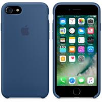 Чехол Silicon case iPhone 7/iPhone 8, синий