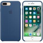 Чехол Silicon case iPhone 7 Plus/iPhone 8 Plus, синий