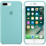 Чехол Silicon case iPhone 7 Plus/iPhone 8 Plus, бирюзовый