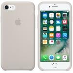 Чехол Silicon case iPhone 7/iPhone 8, бежевый