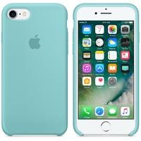 Чехол Silicon case iPhone 7/iPhone 8, бирюзовый