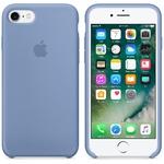 Чехол Silicon case iPhone 7/iPhone 8, лазурный