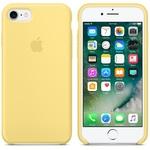 Чехол Silicon case iPhone 7/iPhone 8, желтый