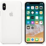 Чехол Silicon case iPhone X, белый
