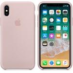 Чехол Silicon case iPhone X, розовый