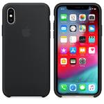 Чехол Silicon case iPhone XS Max, черный