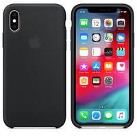 Чехол Silicon case iPhone XS, черный