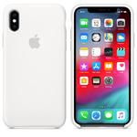 Чехол Silicon case iPhone XS Max, белый