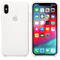 Чехол Silicon case iPhone XS Max, белый