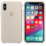 Чехол Silicon case iPhone XS Max, бежевый