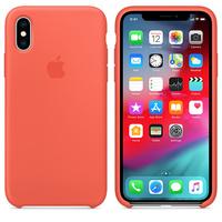 Чехол Silicon case iPhone XS Max, оранжевый