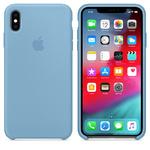 Чехол Silicon case iPhone X, голубой