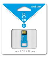 USB Флеш -накопитель SmartBuy Biz 8Gb синий