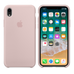 Чехол Silicon case iPhone XR, розовый песок