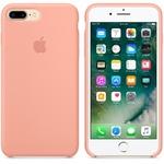 Чехол Silicon case iPhone 7 Plus/iPhone 8 Plus, розовый фламинго