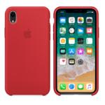 Чехол Silicon case iPhone XR, красный