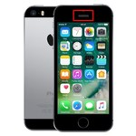 Чистка сетки разговорного динамика iPhone SE