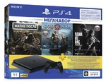 Sony PlayStation 4 Slim 1Tb + Жизнь После + God Of War +The Last Of Us