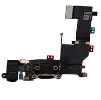 Шлейф системного разъема iPhone SE, черный