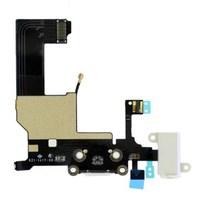 Шлейф системного разъема iPhone SE, белый