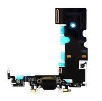 Шлейф системного разъема iPhone 8, черный