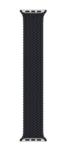 Плетёный монобраслет 38/40mm, черный