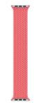 Плетёный монобраслет 38/40mm, розовый