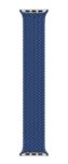 Плетёный монобраслет 38/40mm, синий