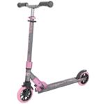 Детский городской самокат TechTeam Comfort 145R 2021, серый/розовый