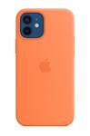 Силиконовый чехол MagSafe для iPhone 12 mini, кумкват