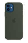 Силиконовый чехол MagSafe для iPhone 12 mini, зеленый