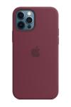 Чехол Silicon case iPhone 12 Pro, сливовый