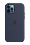 Силиконовый чехол MagSafe для iPhone 12 Pro Max, темный ультрамарин