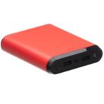 Внешний аккумулятор XO PB73, 10000mAh, красный