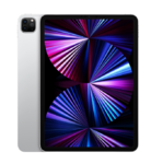 """Apple iPad Pro (2021) 11"""" Wi-Fi 128 ГБ, серебристый (MHQT3)"""